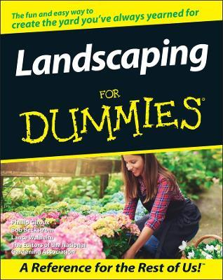 Landscaping For Dummies : The Editors of the National Gardening ...