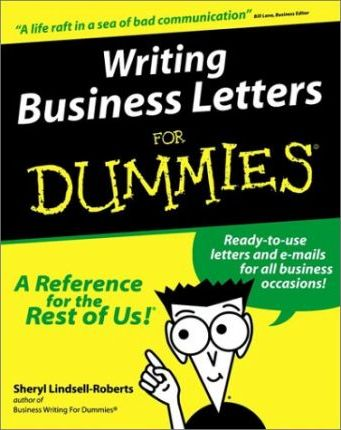 Writing Business Letters For Dummies