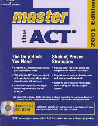 Master the Act 2001 W/CD-Rom