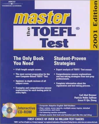 Master the Toefl, 2001/E W/CD-