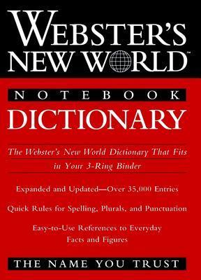 Webster's New World Notebook Dictionary