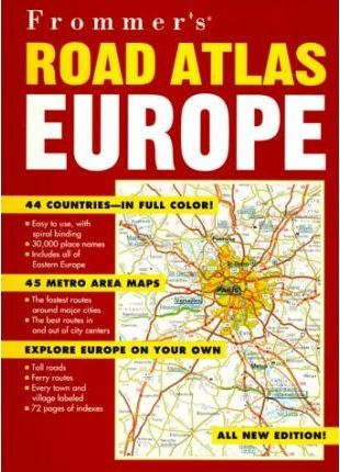 Frommer's Road Atlas Europe, 2nd Edition