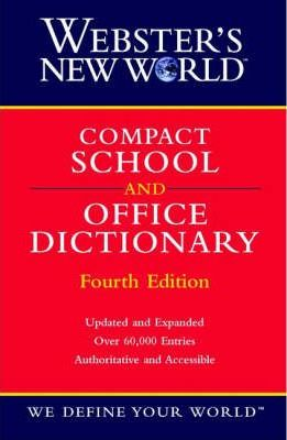 Webster Compact School and Office Dictionary