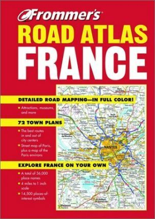 Frommer's Road Atlas France 2002