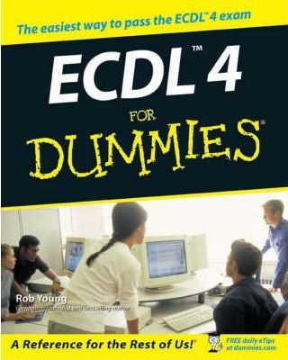 ECDL 4 for Dummies