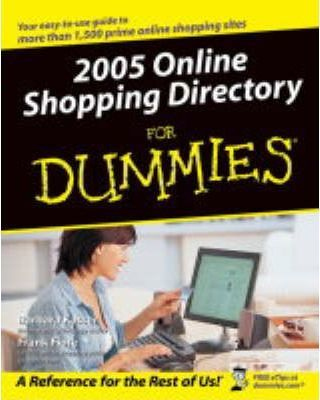 Online Shopping Directory All-in-One Desk Reference For Dummies