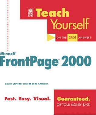 Teach Yourself MS Frontpage 2000