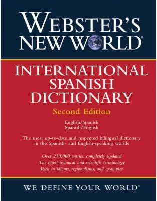 Webster's New World International Spanish/English Dictionary