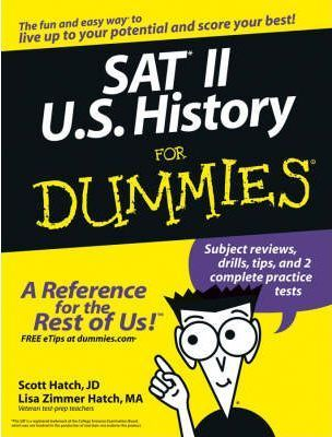 SAT II U.S. History For Dummies