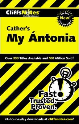 """Notes on Cather's """"My Antonia"""