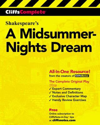 A Midsummer Night's Dream: Complete Study Edition