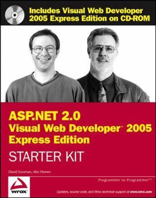 Wrox's ASP.NET 2.0 Visual Web Developer 2005: Express Edition Starter Kit
