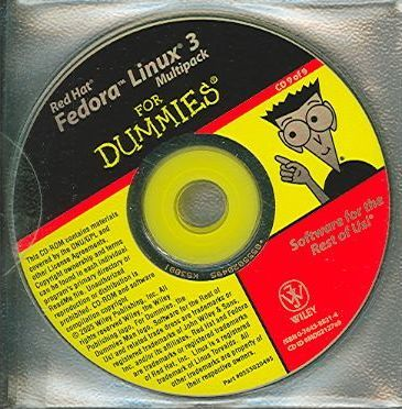 RHF Linux 3 Multipack For Dummies: Fedora Core 3 Distribution with Source Code on 9 CDs for Customers without Access to a DVD Drive