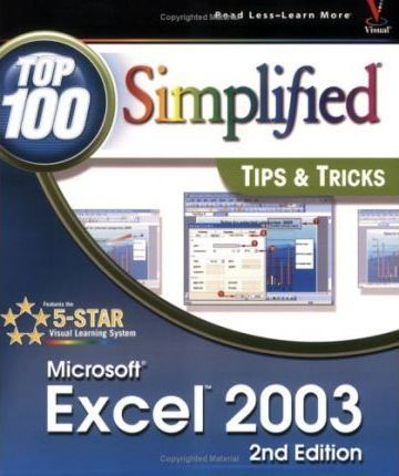 Excel 2003 Top 100 Simplified Tips and Tricks