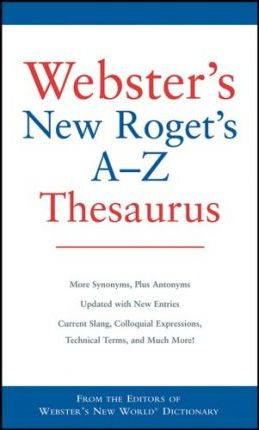 Webster's New Roget's A-Z Thesaurus