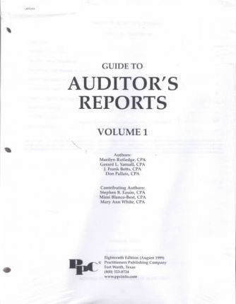 Guide to Auditor's Reports