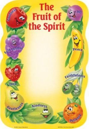 Fruit of the Spirit Notepad