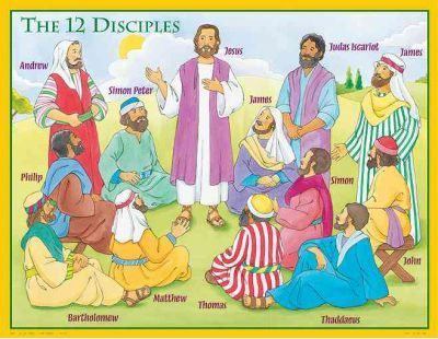 The 12 Disciples