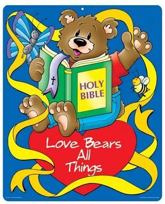 Love Bears All Things Two-Sided Decorations