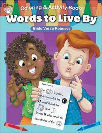 Words to Live by Coloring & Activity Book
