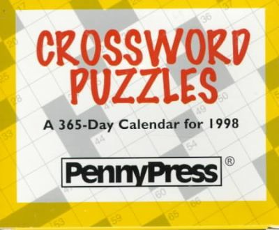 Crossword Puzzles: A 365-Day Calendar for 1998