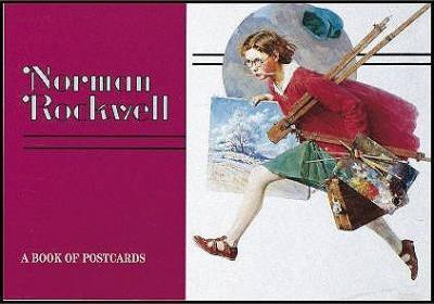 Norman Rockwell Book of Postcards A932