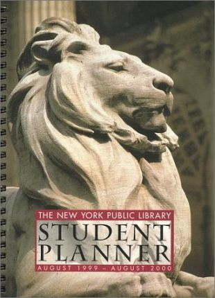 Nypl Student Planner: Deluxe Engagement Book