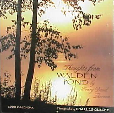 Thoughts from Waldon Pond: 2000 Wall Calendar