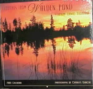 Thoughts from Walden Pond: 2001
