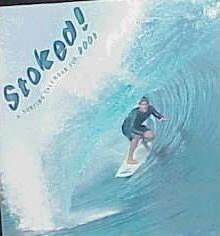 Stoked!: Surfing Wall Calendar: 2000