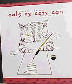 Cats as Cats Can Calendar: 2001