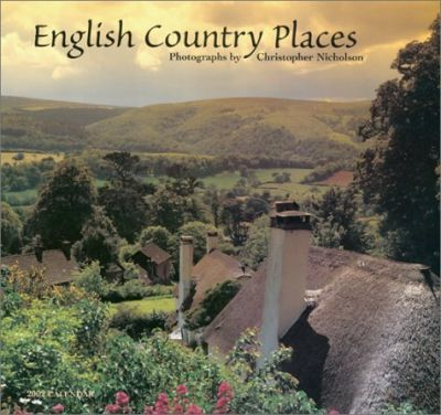 English Country Places Calendar: 2002