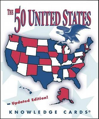 The 50 United States Knowledge Cards (Updated Edition) Quiz Deck K165