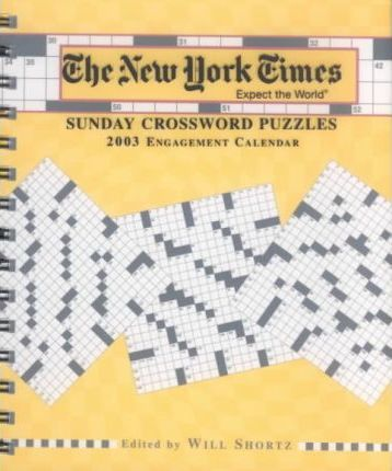 2003 New York Times Crossword Puzzles Diary