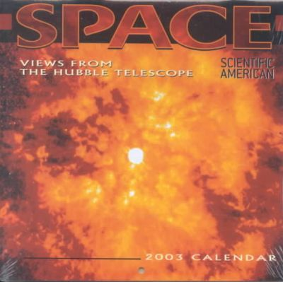 2003 Space: Views Form the Hubble Mini Calendar
