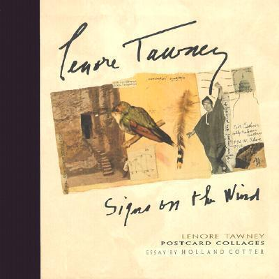 Lenore Tawney Signs on the Wind Postcard Collages A639