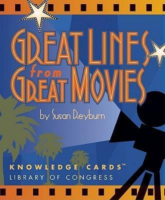 Great Lines from Great Movies Knowledge Cards Quiz Deck K204