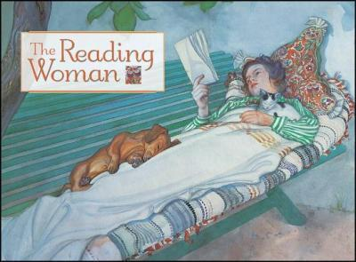 Reading Woman the Boxed Notecards 0657