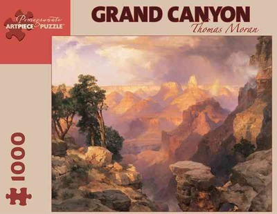 Grand Canyon with Rainbow 1000-Piece Jigsaw Puzzle Aa312