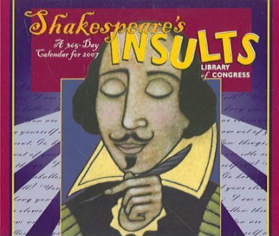 Shakespeare's Insults Library of Congress