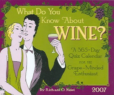 What Do You Know about Wine?