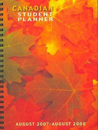 Canadian Student 2008 Planner