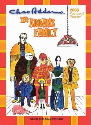 The Addams Family 2008 Postcard Planner