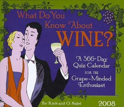 What Do You Know About Wine? 2008 Calendar
