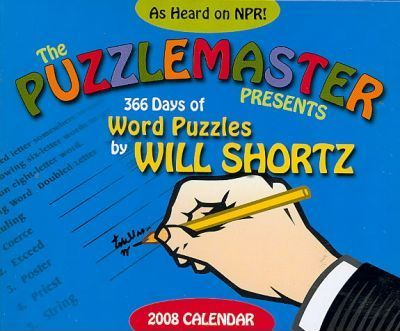 The Puzzlemaster Presents 366 Word Puzzles 2008 Calendar