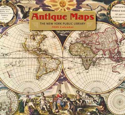 Antique Maps 2008 Calendar