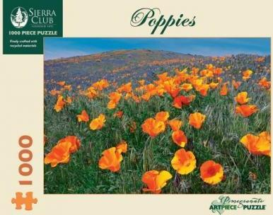 Poppies 1000 Piece Jigsaw Puzz