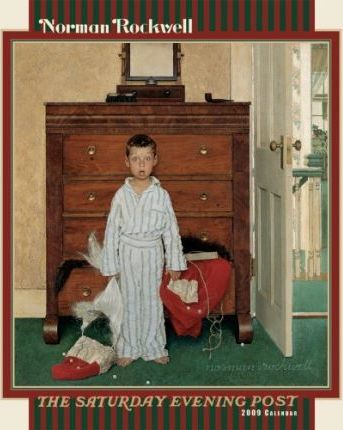 Norman Rockwell The Saturday Evening Post 2009 Calendar