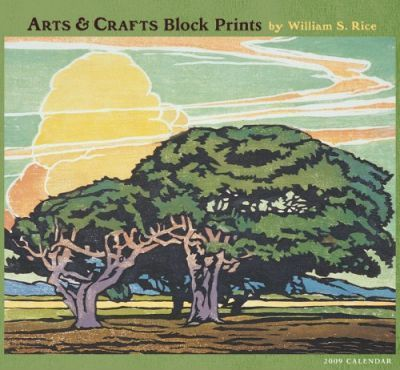Arts & Crafts Block Prints 2009 Calendar