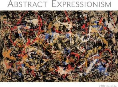 Abstract Expressionism 2009 Calendar